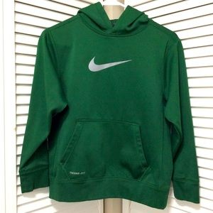 Nike Hoodie Sweatshirt Youth Sz M Green